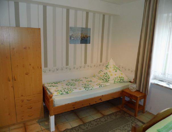 Schlafzimmer Einzelbett