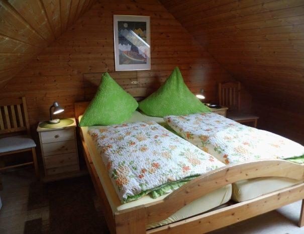 Bungalow Baltrum 05 Schlafzimmer OG